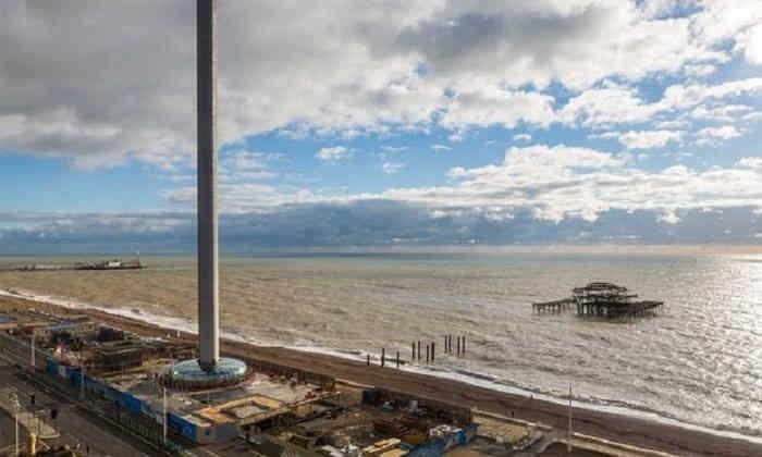 ساخت باریک ترین برج جهان در انگلیس