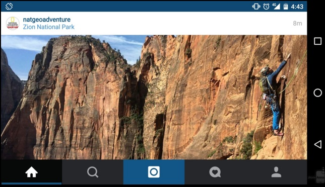 آموزش استفاده از اپلیکیشن اینستاگرام در حالت Landscape(افقی)
