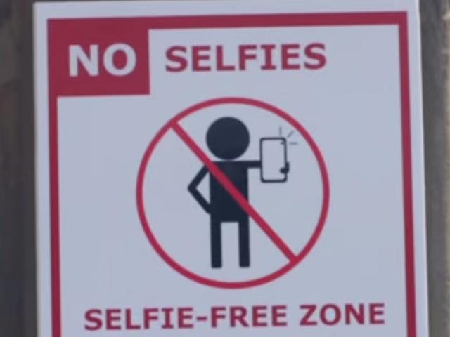 سلفی ممنوع