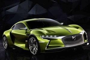 خودروی برقی جدید e-tense (1)