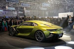 خودروی برقی جدید e-tense (2)
