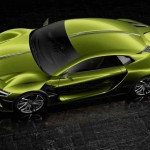 خودروی برقی جدید e-tense (7)