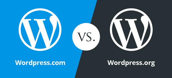 مقایسه سایت Wordpress.org با Wordpress.com