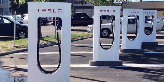 جایگاه سوخت گیری خودروهای الکتریکی