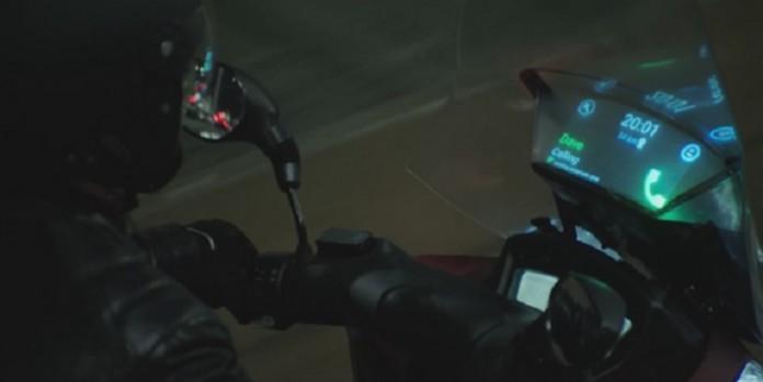 باد شکن هوشمند موتور سیکلت سامسونگ