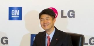 مدیر عامل شرکت ال جی