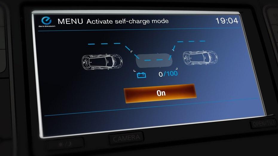 شارژ خودکار خودرو های الکتریکی