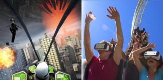 استفاده از فناوری واقعیت مجازی در شهر بازی ها