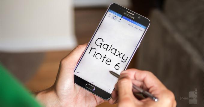 Note 6 از رم 6 گیگابایت استفاده می کند !