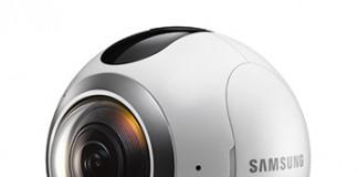 دوربین 360 درجه ی Gear 360 سامسونگ