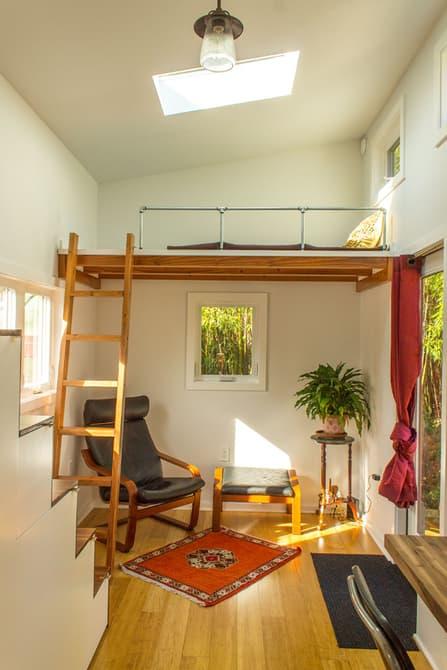 نورگیر ترین خانه ی قابل حمل دنیا
