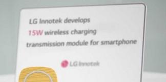 فناوری جدید ال جی در حوزه ی شارژ بی سیم گوشی