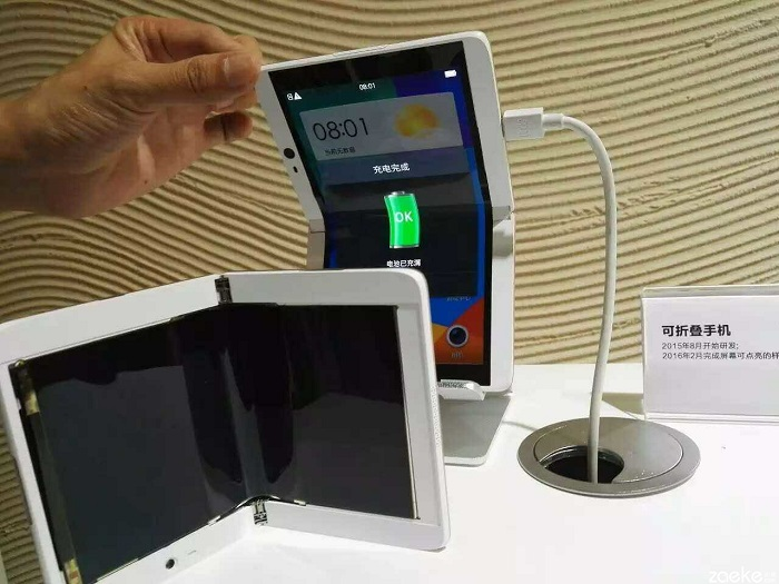 Oppo نیز گوشی انعطاف پذیر می سازد