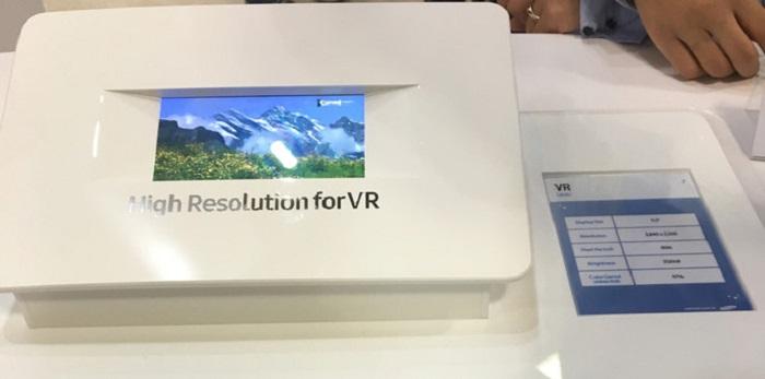 سامسونگ در حال ساخت یک صفحه ی نمایش 5.5 اینچی 4K مخصوص برای واقعیت مجازی است