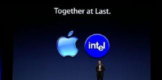همکاری اپل و اینتل