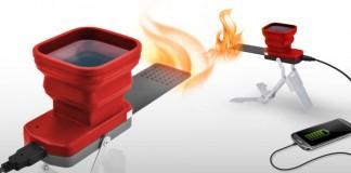 شارژر عجیب FlameStower