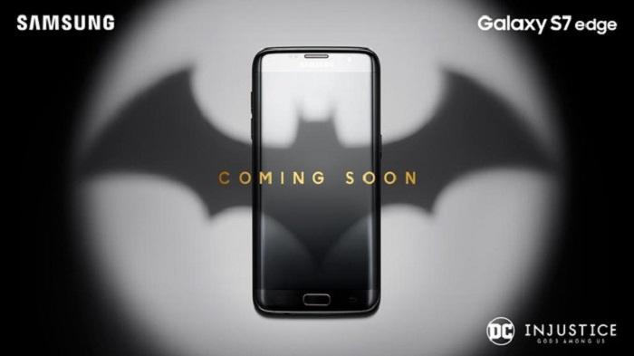عرضه ی نسخه ی Batman Edition گوشی گلکسی اس 7 اج ، به زودی