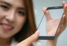 سنسور اثر انگشت جدید شرکت ال جی