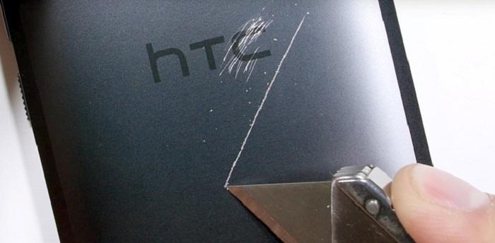 مقاومت سرسختانه ی HTC 10 در مقابل خراشیدگی ، خم شدن و آتش