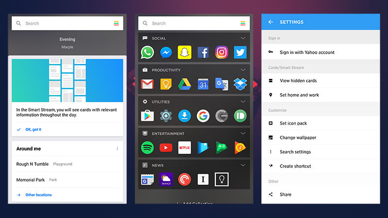 7 Android Launchers-