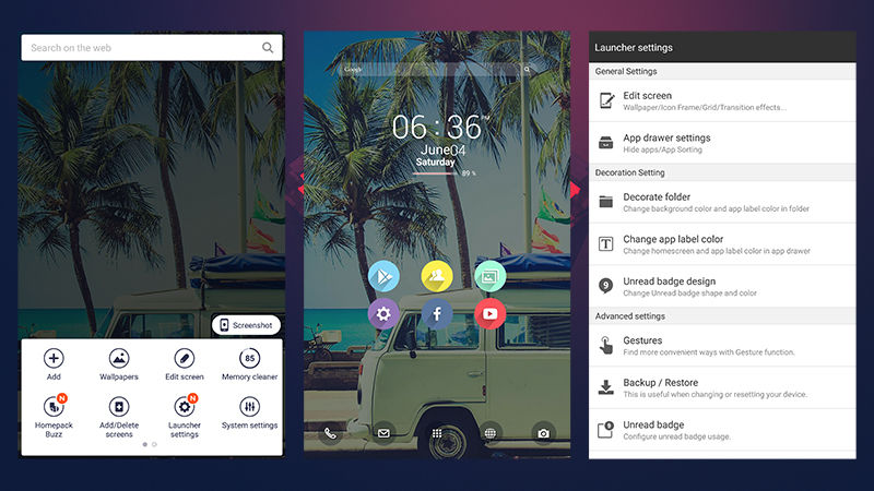 7 Android Launchers-Buzz