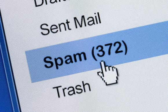 ایمیل اسپم