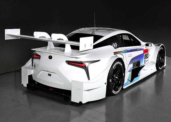 گام های بلند لکسوس برای مسابقات Super GT سال 2017 با معرفی خودروی جدید