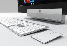 مایکروسافت قصد ارائه کامپیوتر All-in-one سرفیس را در دارد