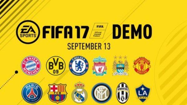 تاریخ عرضه ی نسخه ی دمو بازی فیفا 17 مشخص شد
