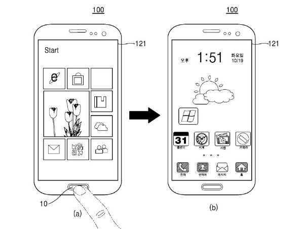 سامسونگ قصد ارائه گوشی هوشمند با دو سیستم عامل ویندوز و اندروید را دارد
