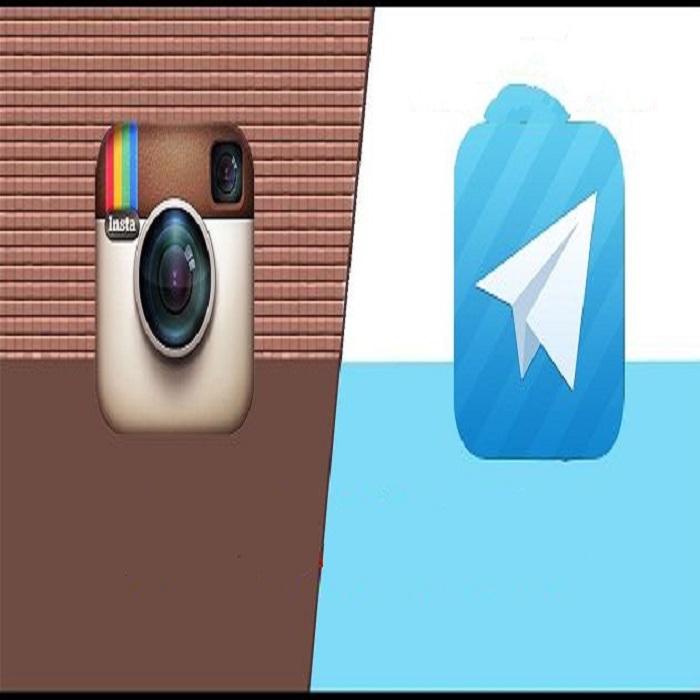 همکاری متقابل / آموزش دانلود تصاویر و ویدئوهای اینستاگرام توسط تلگرام