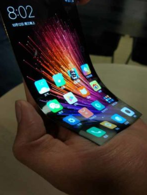 Xiaomi هم صفحه نمایش منعطف ارائه می دهد؟