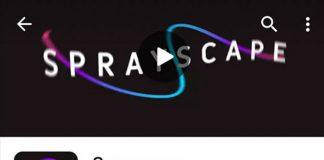 Google Sprayscape Camera App