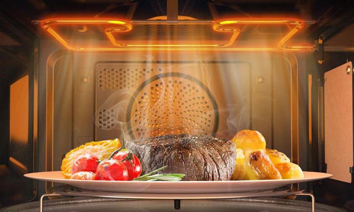 مایکروفر جدید سامسونگ جانشین فرها در آشپزخانه میشود