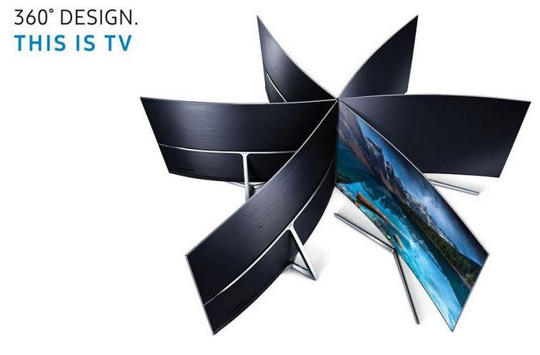 بررسی طراحی ۳۶۰ درجه تلویزیونهای هوشمند SUHD سامسونگ