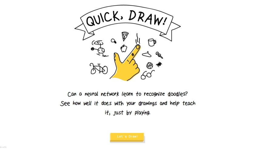 !Quick, Draw نقاشی وحشتناکتان را هم شناسایی می کند