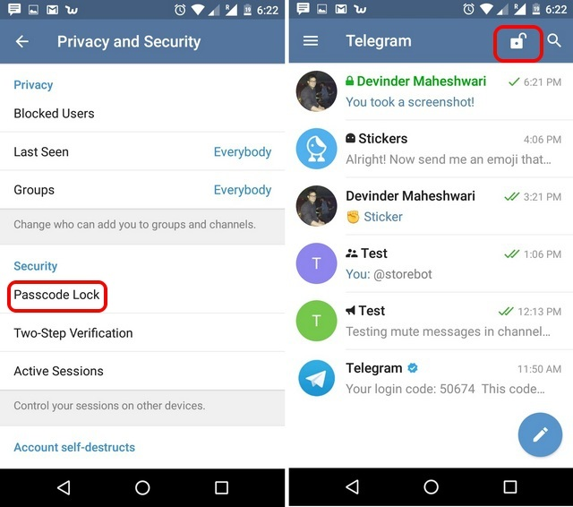 telegram-messenger-app-tricks-passcode-lock