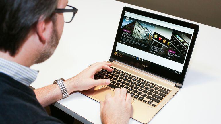 معرفی باریکترین لپ تاپ جهان Acer Swift 7