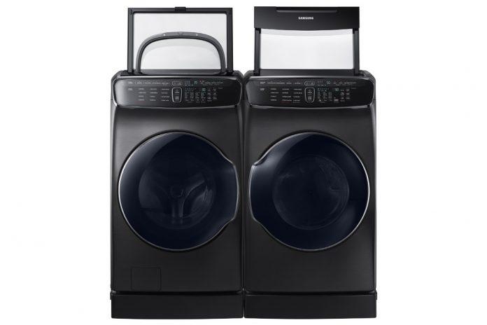 سامسونگ از ماشین لباسشویی چهارکاره هوشمندش در لاس وگاس رونمایی کرد