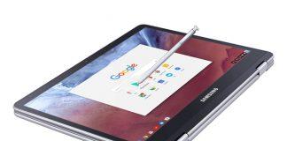 کرومبوک پلاس و کرومبوک پرو رونمایی شدند قلمزنی سامسونگ با گوگل