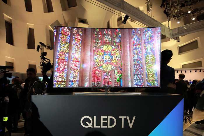 سامسونگ تلویزیون های جدید QLED خود را رسما رونمایی کرد.