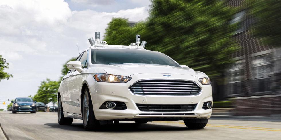 خودروهای بدون فرمان و پدال فورد تا سال ۲۰۲۱  وارد بازار میشوند