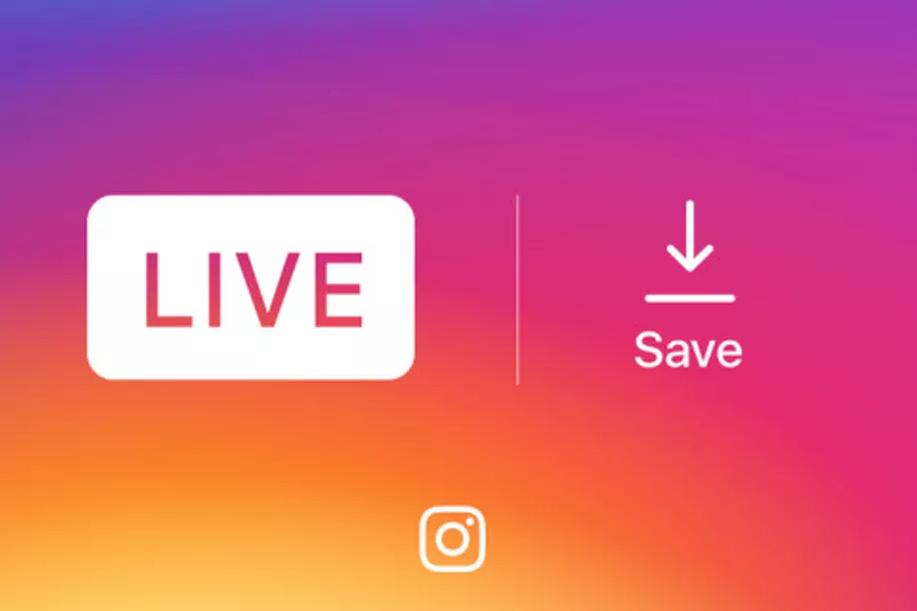 می توانید ویدیو زنده (Live Video) را در اینستاگرام ذخیره کنید