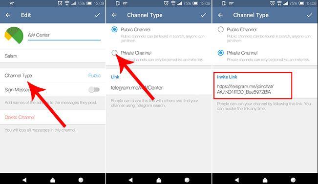 کانال تلگرام پوست و مو لینک یاب