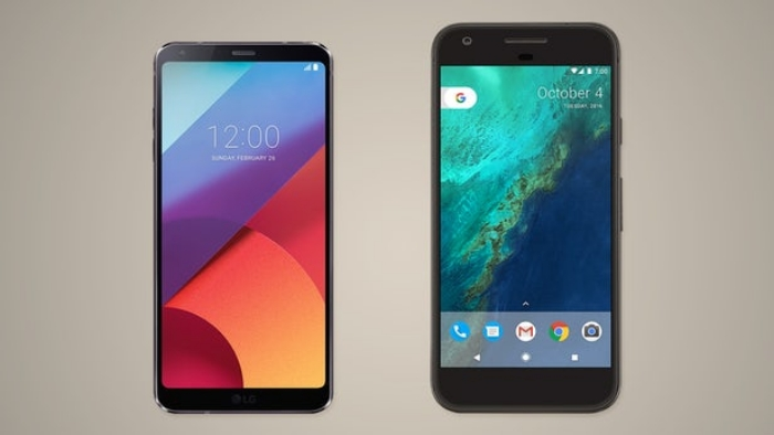 مقایسه دو گوشی قدرتمند الجی و گوگل : LG G6 vs. Google Pixel XL