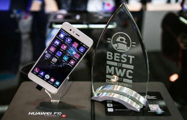محصولات جدید هواوی جایزه بهترین محصول کنگره جهانی موبایل را از آن خود کرد