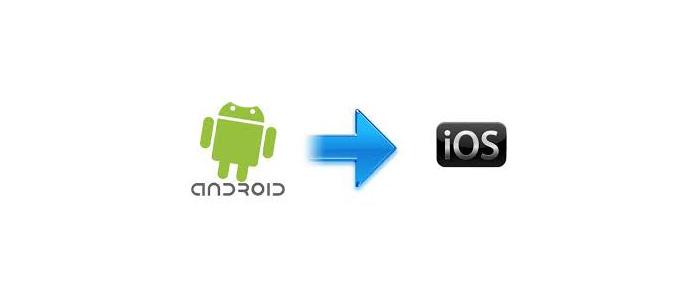 نحوه ی انتقال مخاطبین از آندروید به IOS