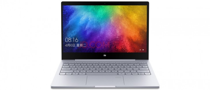 افشا شدن مشخصات لپ تاپ Xiaomi Mi Notebook Air 13.3
