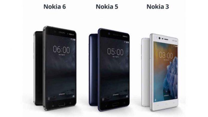 گوشی های نوکیا ۳، ۵ و ۶ به بازار راه یافتند