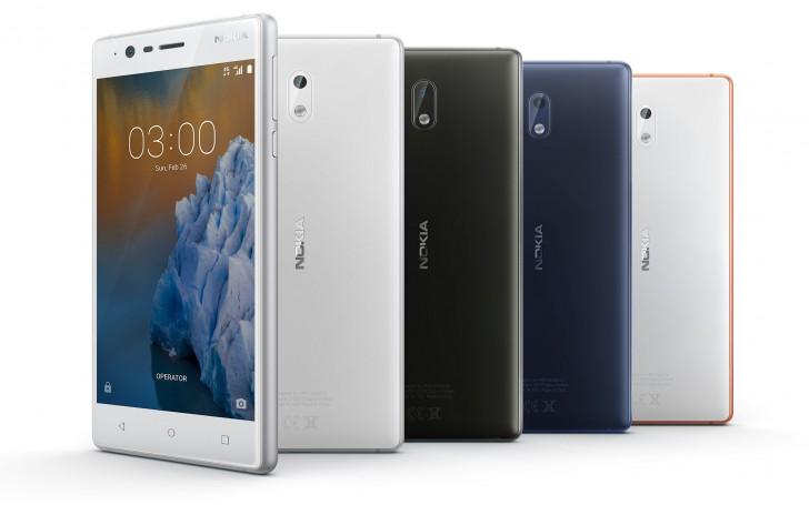گوشی های نوکیا 3، 5 و 6 به بازار راه یافتند